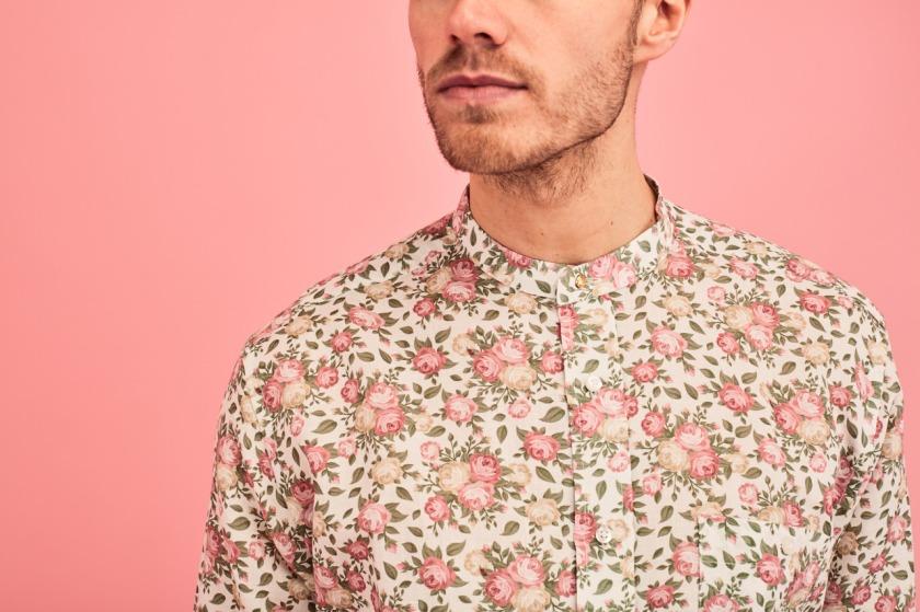 SS18 Linen Romantic Rose Shirt