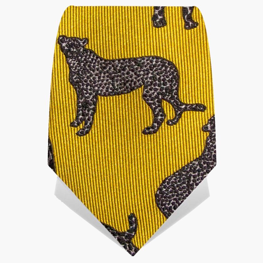 Gold Panther Tie | Gresham Blake