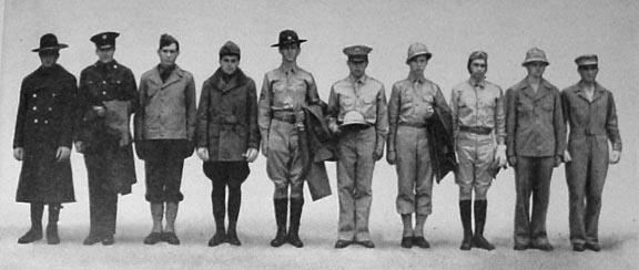 The Story of Mohair - Field Combat Uniforms: World War II