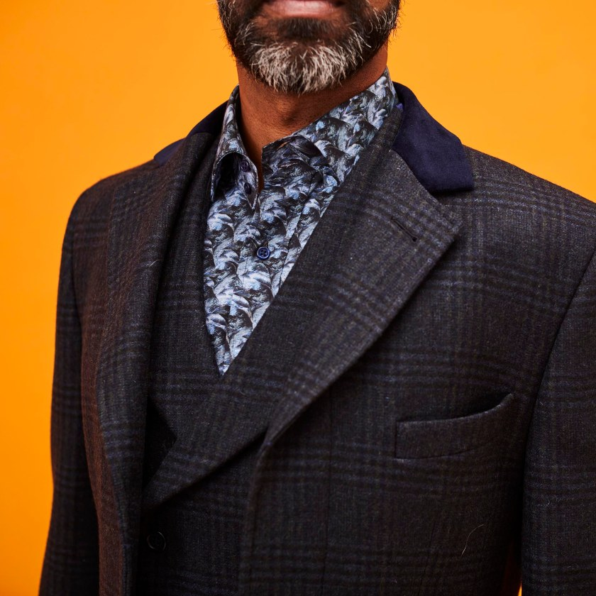 Wool Coat | Covert Coat | Gresham Blake
