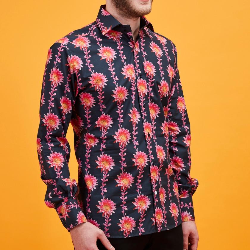 Desert Flower Shirt | Floral Shirt | Gresham Blake