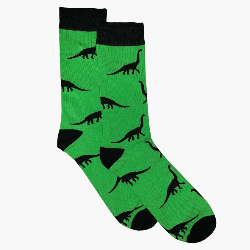 Green Dinosaur Sock | Gresham Blake