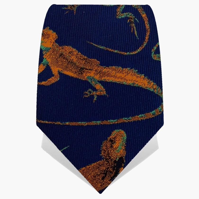 Lizard Tie | Gecko Tie | Gresham Blake