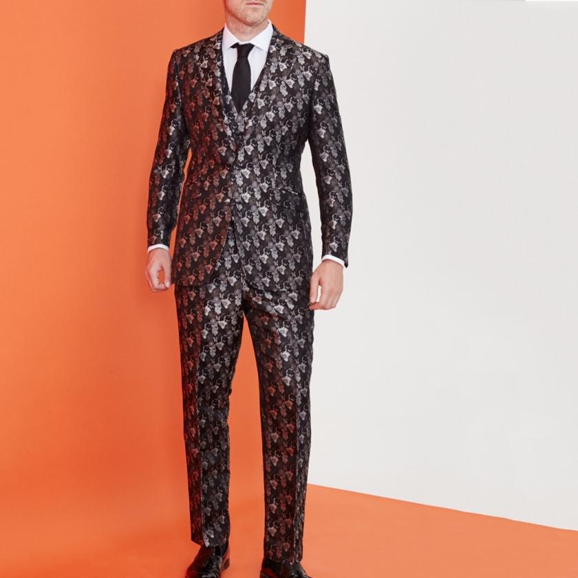 Floral Suit | Silk Suit | Gresham Blake