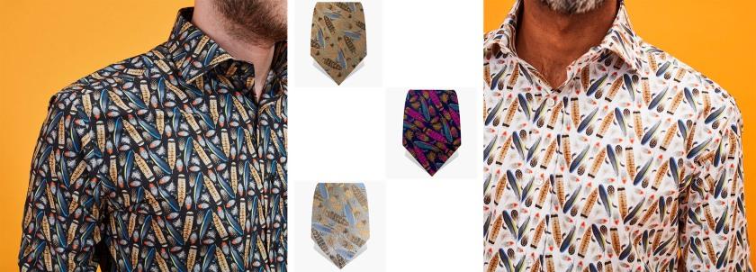 Navajo Print | Shirts | Ties | Gresham Blake