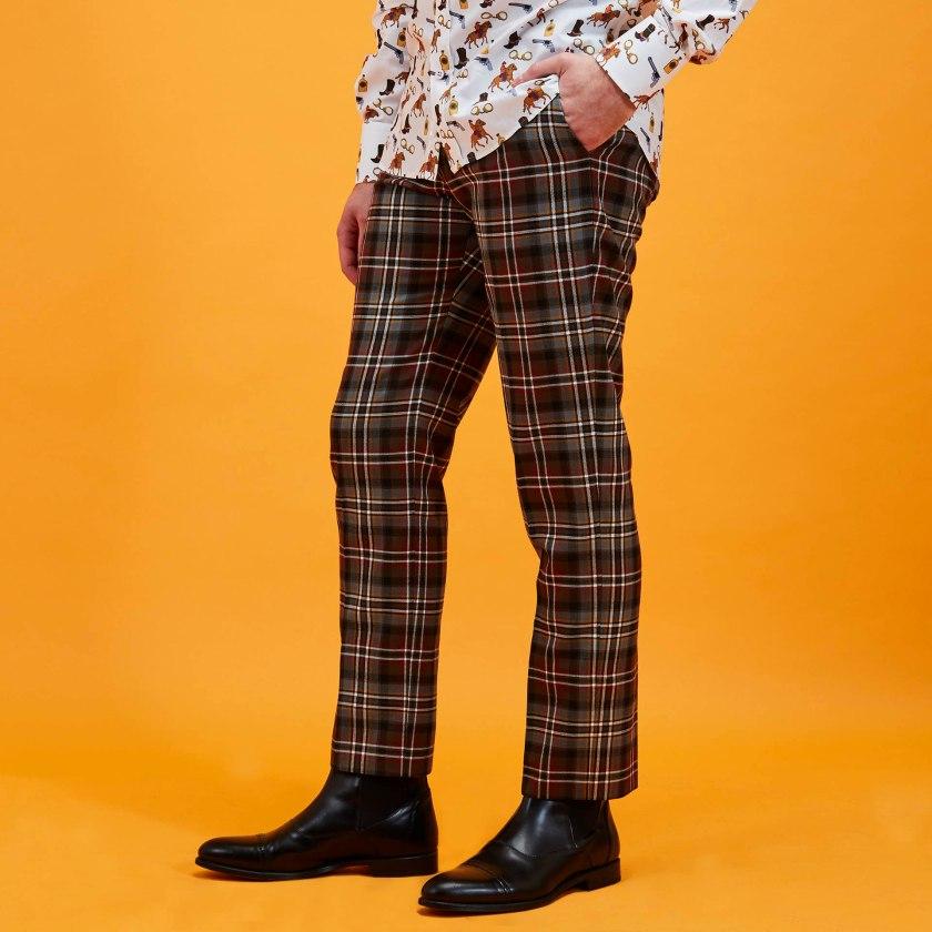 Tartan Trousers | Gresham Blake