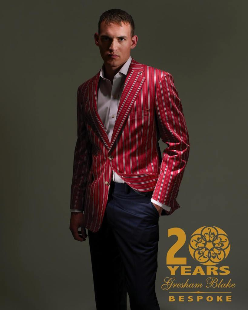 20 Years of Tailoring | Gresham Blake