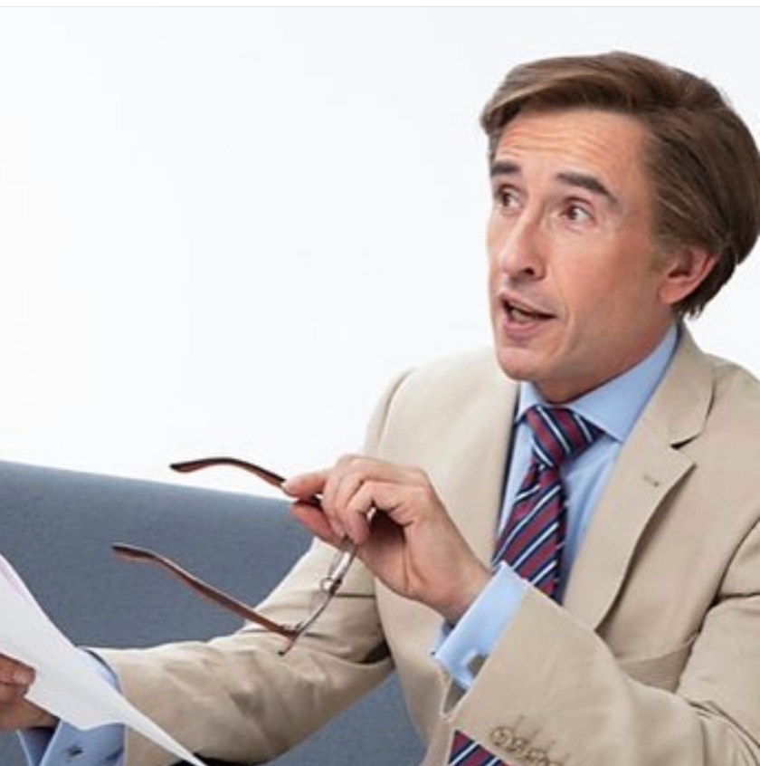 Alan Partridge | This Time | Costumes | Gresham Blake