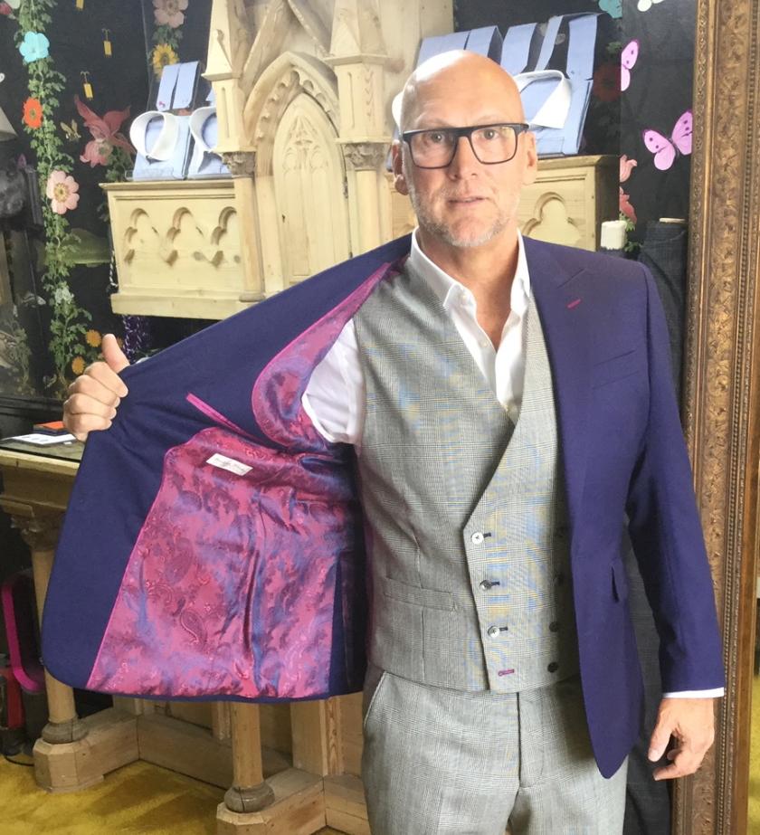Bespoke Gresham Blake Suit