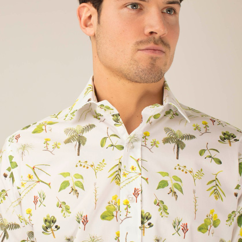 Darwin's Florals Shirt | Floral Shirt | Gresham Blake