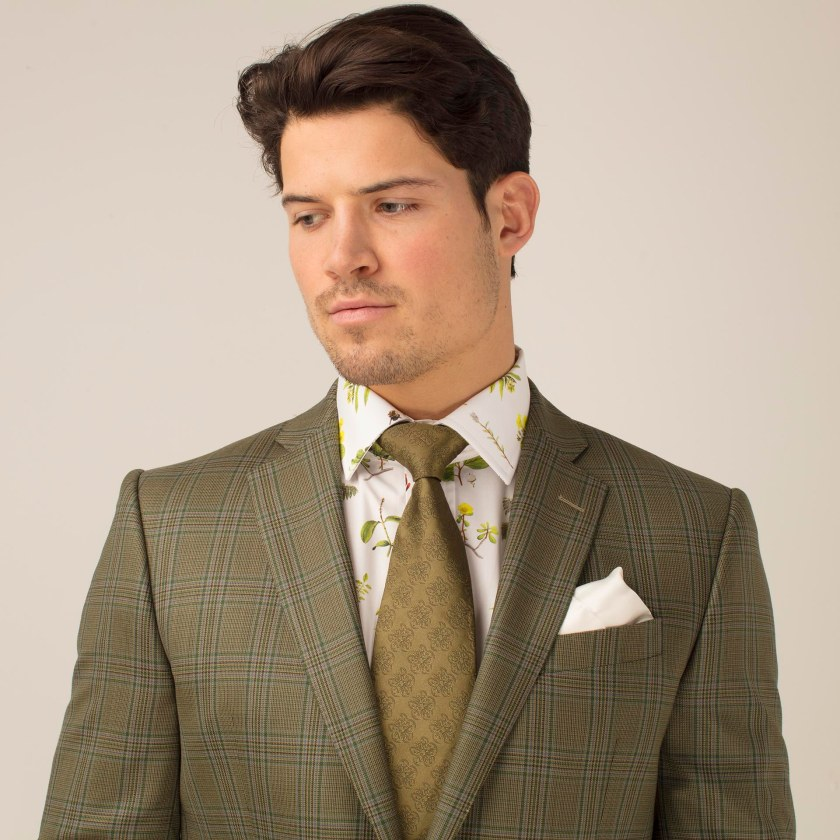 Green Check Ramsey Suit